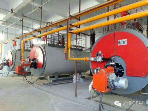 青海多巴国家高原体育训练基地三台燃气锅炉