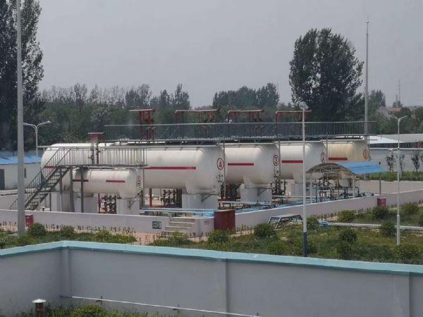 淄博市煤气公司下属公司:惠民燃气400立方LPG充装站