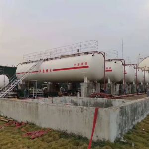 广东港建液化气有限公司800立方液化石油气储备站项目