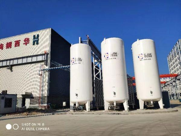广东华西钢构集团车间集中供气项目