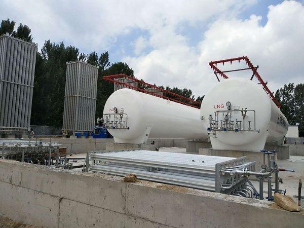 LNG点供站及调峰站总承包建设