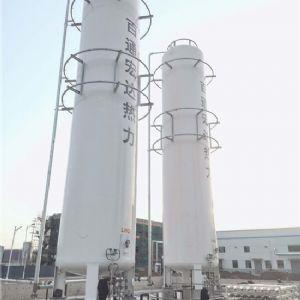 曹县百通宏达热力有限公司2台100立方LNG热博rb88官网及7000立方汽化调压项目