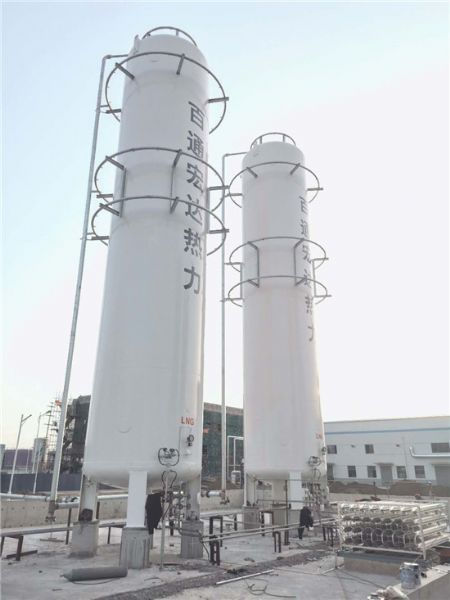 曹县百通宏达热力有限公司2台100立方LNG储罐及7000立方汽化调压项目